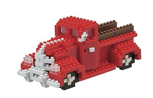 nanoblock NBH-073 - Pickup Truck, Minibaustein 3D-Puzzle, Sights to See Serie, 320 Teile, Schwierigkeitsstufe 3, schwer