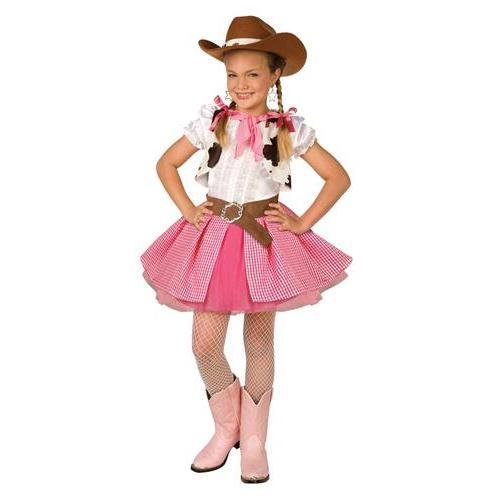 Cowgirl Cutie Child Costume, Large 12-14