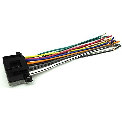 conpus mm Plugs en fábrica Radio coche reproductor de CD estéreo Cableado Arnés alambre 1992–2001GMC S-15Jimmy