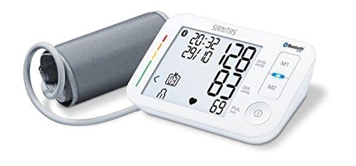 Sanitas SBM 37 Oberarm-Blutdruckmessgerät, optimale Blutdruckkontrolle via App + Software
