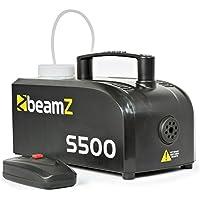 Beamz S-500P - Maquina de humo (500 W, 230 V), color negro