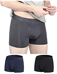 DAMENSCH Men's 3X Softer Micromodal Air Trunks - Pack of 3 (100% Guarantee if NOT satisfied)