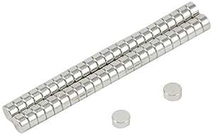 Magnet Expert® 4mm dia x 2mm thick N35 Neodymium Magnet - 0.38kg Pull ( Pack of 50 )