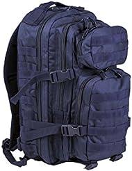 mochila Mil Tec US Assault de 20 L color azul