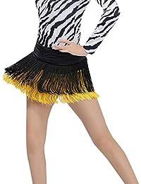 1726127062a1 Hongyuangl Jupe à Franges Ceinture Foulard Belly Danse de Ventre Orientale  Hanche Costume Professionnel