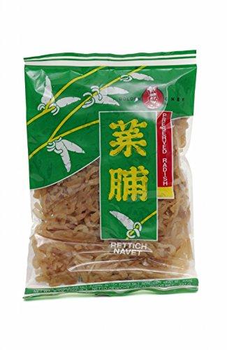 [ 227g ] GOLDEN CHEF getrocknete süße Rettich Scheiben / dried sweet radish slices