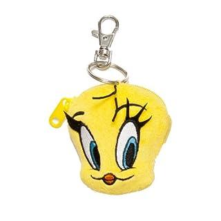 Looney Tunes 233318 - Tweety Plüsch-Schatzhalter, 7 cm