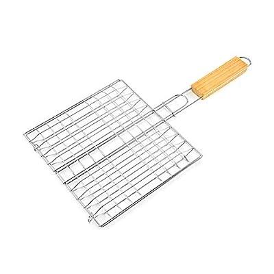 Gogordon 1 Stücke Hamburg Gegrillter Fisch Clip Grill Net BBQ Werkzeug für Outdoor Camping Picknick