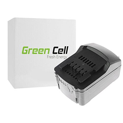 Preisvergleich Produktbild Green Cell® Werkzeug Akku für Metabo BS 18 Set 602207880 ( Li-Ion Zellen 3 Ah 18V )