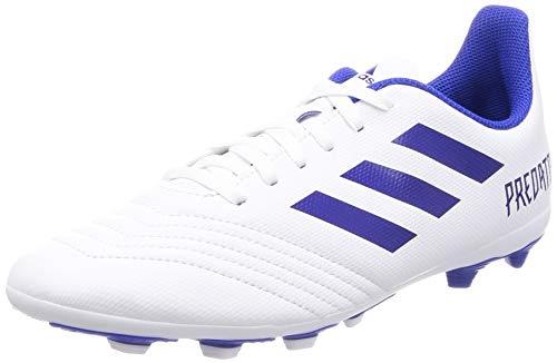 adidas Jungen Predator 19.4 FxG Fußballschuhe, Weiß (Footwear White Bold Blue 0), 33 EU