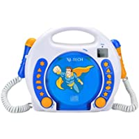 X4-TECH Bobby Joey CD/SD/USB Portable CD Player Multicolor - Unidad de CD (CD, C, Multicolor, SD)