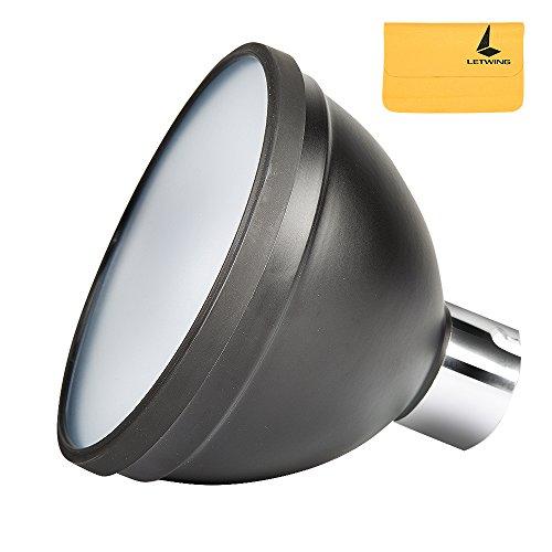 Godox ad-s2Standard-Reflektor mit weichem Diffusor für Godox AD200AD180AD360ad360ii Blitze, letwing Reinigungstuch -