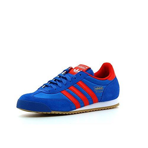 adidas Originals Herren Dragon Sportschuhe, Multicolore (Azul/Rojo/Dorado (Reabri/Rojo/Dormet), 38 2/3 EU (Dragon Adidas Originals)