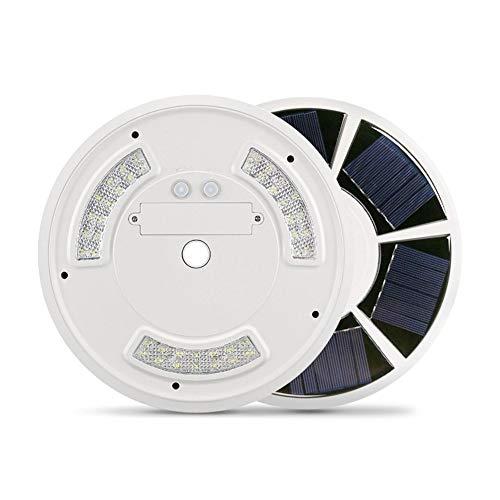 Ieenay 42 LED Solar Flag Pole Light Gancho Waterproof