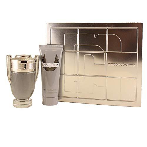 Paco Rabanne Invictus Set homme/men, Eau de Toilette, Vaporisateur/Spray 100 ml, Shower Gel 100 ml, 1er Pack (1 x 200 ml)