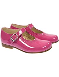 12ab8a8544d1 Panache Kids Girls Mary Jane Traditional Ankle-Strap Shoe