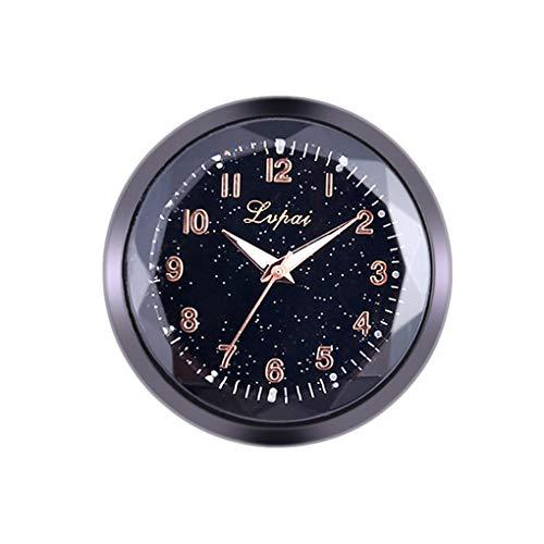 Nowear Auto Dekoration Elektronische Meter Auto Uhr Uhren Innen Aufkleber Uhr Autozubehör