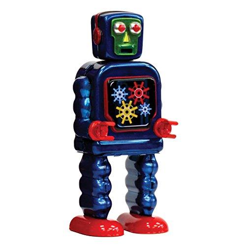 enesco-st-johns-tin-gearing-robot-metallo-multicolore-9x11x13-cm