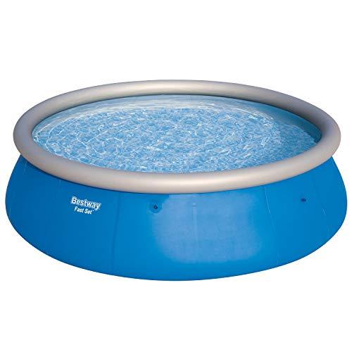 Bestway Fast Set Pool, 457 x 457 x 122 cm, rund, blau, 13.807 Liter, aufblasbarer Aufstellpool ohne Pumpe und Zubehör, Ersatzpool, Ersatzteil