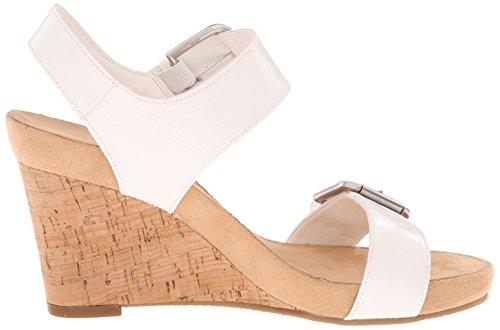 Aerosoles Mega Plush Femmes Synthétique Sandales Compensés white
