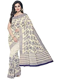 Sakhi Womens Blended Tussar Saree_IMR-0130_Multi-coloured_Free Size