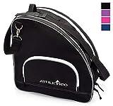 Athletico Ice Skate/Inline Skate Bag, Black