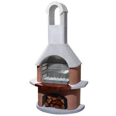 54cm Toscana Masonry Charcoal Barbecue