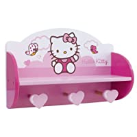 Fun House 711957 – Furniture and Decoration – Hello Kitty – Clouds Coat Rack Shelving Unit