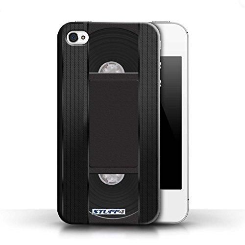iCHOOSE Print Motif Coque de protection Case / Plastique manchon de telephone Coque pour iPhone 6+/Plus 5.5 / Collection Retro Tech / Boombox Cassette Vidéo VHS