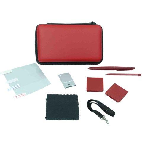 Nintendo DSi XL - 9-in-1 Gamer Kit, weinrot [UK Import]