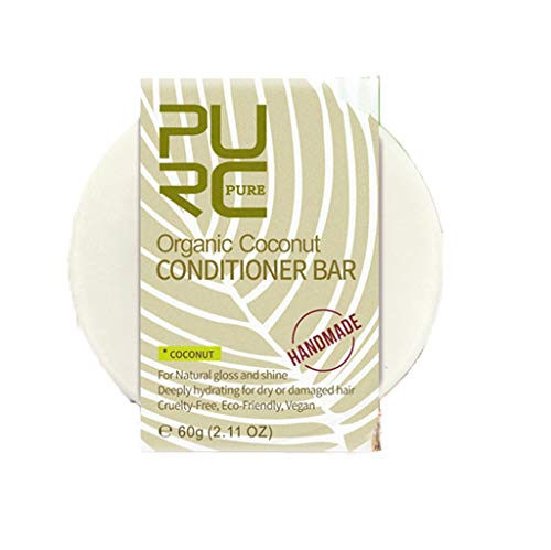 VaycallyHair Shampoo Bar, Hair Soap, Solid Shampoo Soap Plant Essence For Dry, Oily & Damaged Hair, Helps Stop Hair Loss And Promotes Healthy Hair Growth (Coconut Scent)