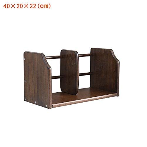 Desktop Bücherregal Walnuss Farbe Natürliche Buche, können Sie anpassen, Desktop Shelves Storage Bücherregal