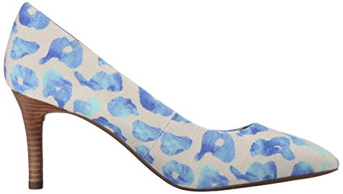 Rockport TM75MMPTH Plain Pump Large Toile Talons Blue Leo