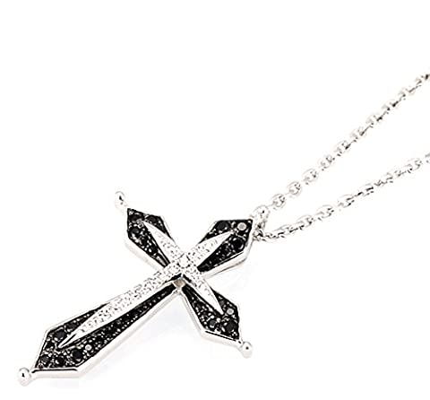 SaySure - Silver Cross Pendant Fit for Necklace