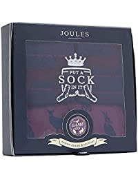 Joules Mens Sockgiftstm Crown Joules Super Soft Boxer Shorts Socks Set