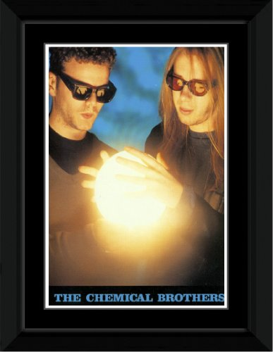 Chemical Brothers - Light Framed and Mounted Print - 14.4x9.2cm