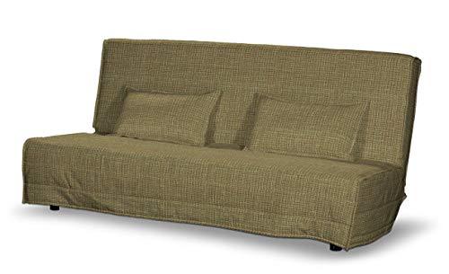 Dekoria Beddinge Sofabezug lang Sofahusse passend für IKEA Modell Beddinge erbsengrün