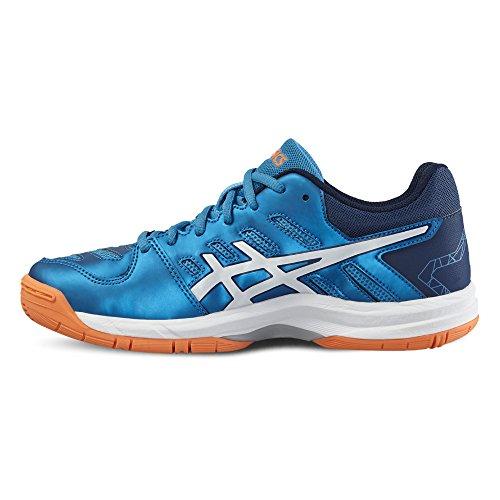 Asics Gel-Beyond Junior Chaussure Sport En Salle - AW16 BLUE JEWEL/WHITE/HOT ORANGE