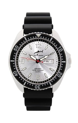 Chris Benz One Man CBO-SI-SW-KB Men's Diving Watch