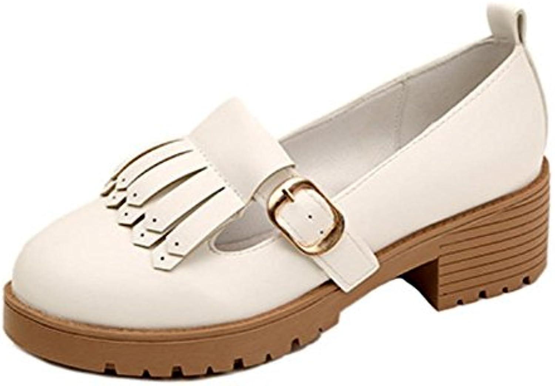 Ragazza della sorgente in ascensore scarpe scarpe scarpe con i pattini spessi del tallone scarpe in pelle di studenti di sesso... | Cheapest  | Scolaro/Signora Scarpa  2d7fc0