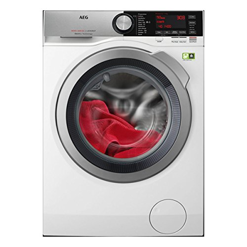AEG 8000 Series L8FEC946R A+++ Rated 9kg 1400 Spin Washing Machine in White