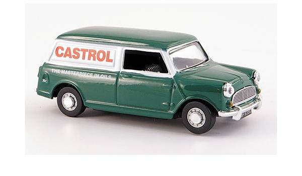 Mini Van Castrol Modellauto Fertigmodell Oxford 1 43 Spielzeug