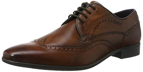 Daniel Hechter Men's 811302031100 Brogues Brown (Cognac 6300) 9 UK