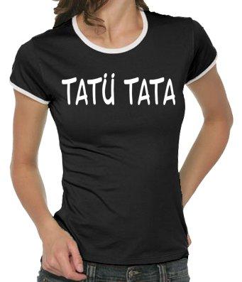touchlines-girlie-ringer-t-shirt-tat-tata-black-m-b9053