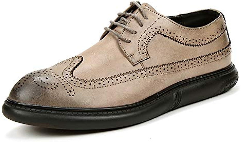 Scarpe da Uomo Men's Men's Men's Business Oxford Nonchalant Fashion Classic Stringate Le Scarpe Brogue Unanimous Colorees | Consegna veloce  | Uomo/Donna Scarpa  63dafd