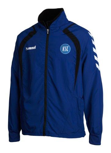 Hummel veste à fermeture éclair team player micro veste de survêtement Bleu - Bleu KSC