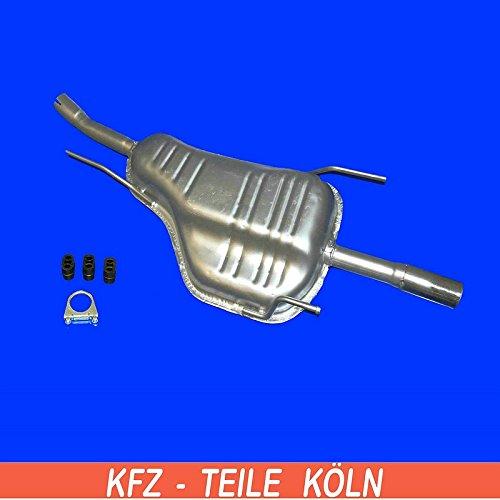 Preisvergleich Produktbild Endschalldämpfer Auspuffanlage (KSLKPQR21)