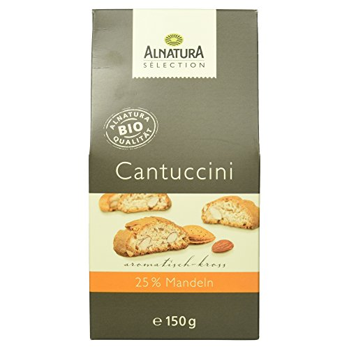 Alnatura Bio Sélection Cantuccini, 6er Pack (6 x 150 g)