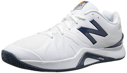 New Balance MC1296 Synthétique Baskets White/Blue