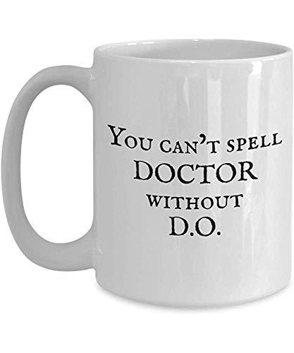 Divertente regalo Osteopata - Tazza da caffè Osteopatia - Non puoi 'fare il dottore senza fare